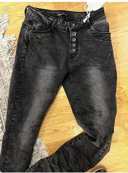 Toxik 3 Jeans Svarta Slitna