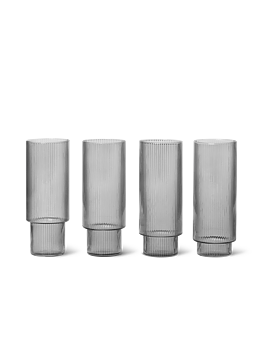 RIPPLE LONGDRINK SMOKE 4-pack - Ferm Living