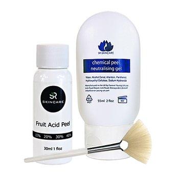 SR-Skincare Fruktsyra 20% - 40%  - AHA-syra - för normal hud, 30 ml