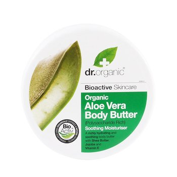 Dr Organic Aloe Vera Body Butter, 200 ml