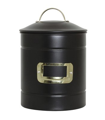 Strömshaga Metal Storage Jar