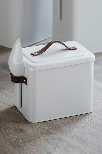 Garden Trading Pet Bin Small Chalk
