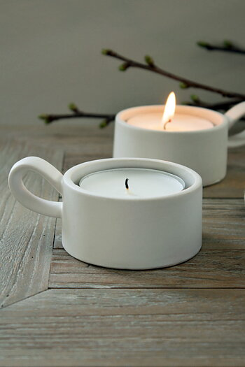 Tealight Holder White