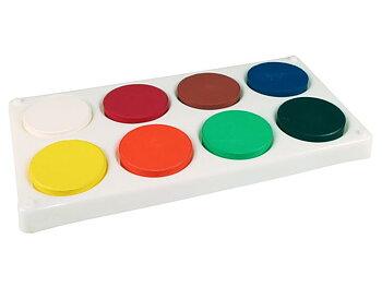 Färgblock 57mm i palett 8 färger