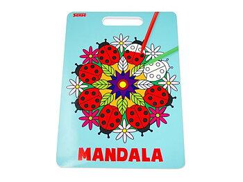 Målarbok Mandala 24 sidor