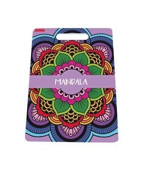 Målarbok Mandala fria former
