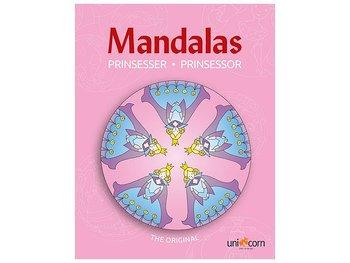 Målarbok Mandala Prinsessor