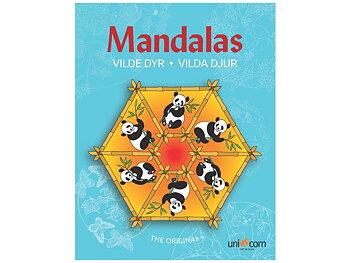 Målarbok Mandala Vilda Djur