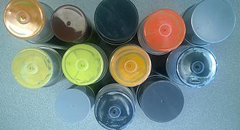 Standox sprayfärg efter färgkod, 400ml