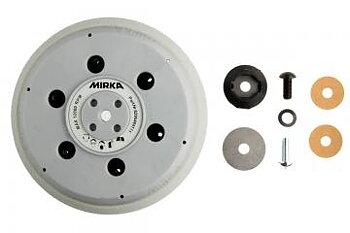 """Mirka UNI Underläggsplatta 150mm 5/16""""+ M8 Grip 61H Hård"""
