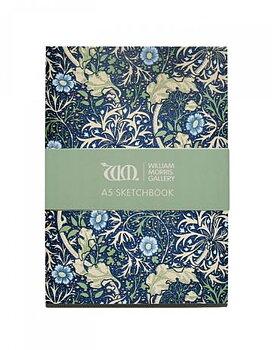 William Morris : Seaweed Sketchbook A5