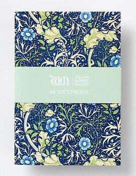 William Morris : Seaweed Sketchbook A6