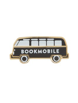 Bookmobile : Enamel Pin