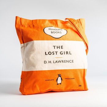DH Lawrence :  Lost Girl - Penguin Tote bag