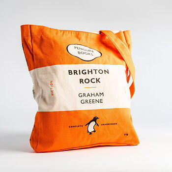 Graham Greene :  Brighton Rock - Penguin Tote bag