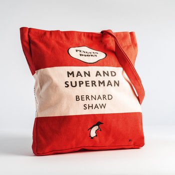 Bernard Shaw :  Man and Superman - Penguin Tote bag
