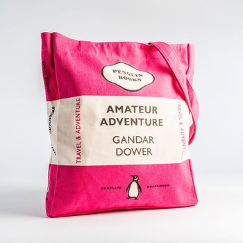 Gandar Dower :  Amateur Adventure - Penguin Tote bag