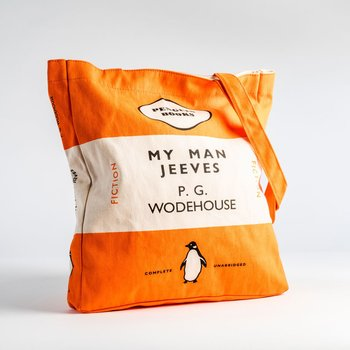 PG Wodehouse : My Man Jeeves - Penguin Tote bag