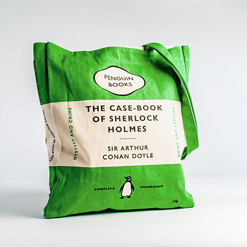 Sir Arthur Connan Doyle : The Casebook of Sherlock Holmes - Penguin Tote bag
