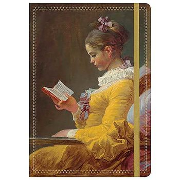 Gilded Journal : Young Girl Reading