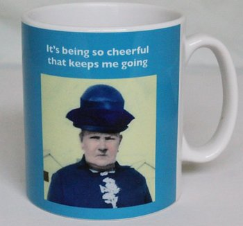 Photocaptions : It's being so cheerful that keeps me going - Mugg