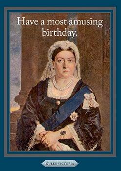 History notes : Queen Victoria - Kort med kuvert