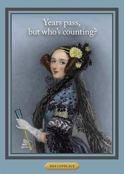 History notes : Ada Lovelace - Kort med kuvert