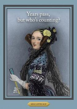 History notes : Ada Lovelace - Kort med kuvert