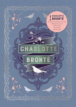 Charlotte Brontë : Literary Stationery Set - Fin boklåda med kort, kuvert och skrivbok