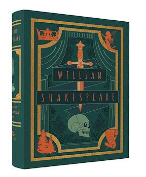 William Shakespeare : Literary Stationery Set - Fin boklåda med kort, kuvert och skrivbok