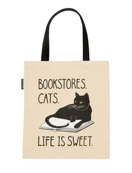 Bookstore Cats : Tote bag
