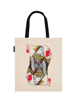 Queen of Books : Tote bag