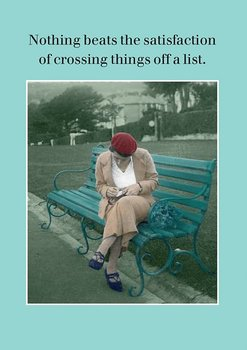 Photocaptions : Crossing things off - Skrivbok A6