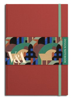 V&A Design : Notebook - Albertopolis red