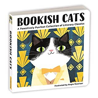 Bookish cats : A pawsitively purrfect collection of litterary classics