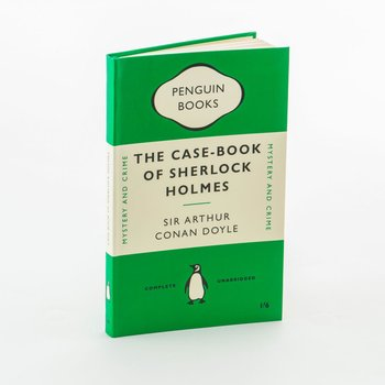 Sir Arthur Conan Doyle : The Case-Book of Sherlock Holmes - Skrivbok linjerad i flexiband A5