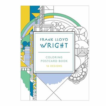 Frank Lloyd Wright :  Coloring Postcard Book
