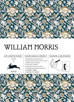 William Morris Gift & Creative Paper Book : Presentpappersbok