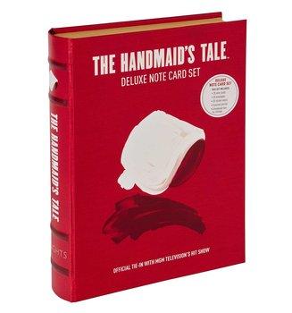 Margaret Atwood : The Handmaid's Tale - Deluxe Notecard Set - Fin boklåda med kort, kuvert och skrivbok