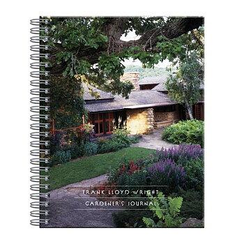 Frank Lloyd Wright :  Gardener's Journal - Trädgårdsdagbok spiralbunden
