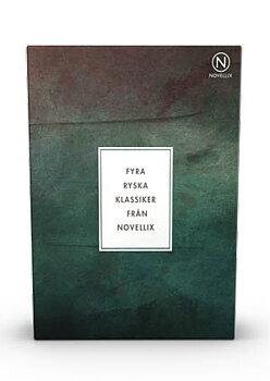 Ryska klassiker : Dostojevskij, Gogol, Tjechov & Bulgakov - 4 stycken i en liten ask