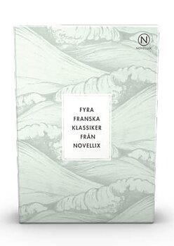 Franska klassiker : Maupassant, Flaubert, Proust & de Beauvoir - 4 stycken i en liten ask