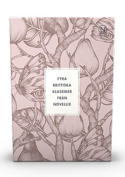 Brittiska klassiker : Woolf, Lawrence, Mansfield & Dickens - 4 stycken i en liten ask