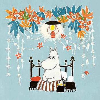 Moomin : Moominmama - Kort med kuvert