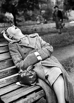 S/V : Waiting for Gladys 1930s - Kort med kuvert