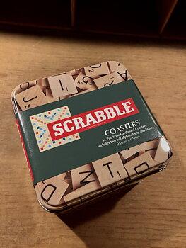 Alfapet/Scrabble : Glasunderlägg