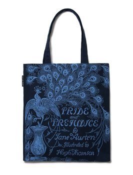 Jane Austen : Pride & Prejudice - Peacock Tote bag
