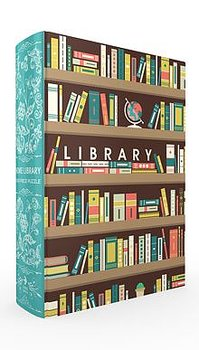 Home Library Book Box Puzzle : Pussel 1000 bitar