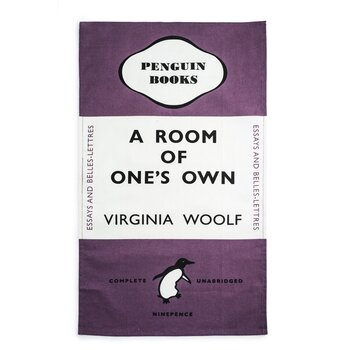 Virginia Woolf : A Room of One's Own Tea towel