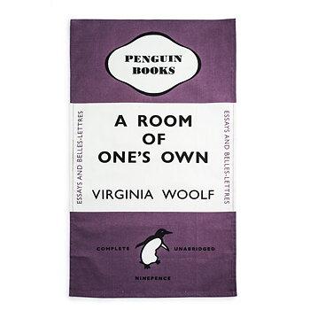 Virginia Woolf : A Room of One's Own Tea towel